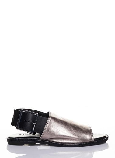 Efem Sandalet Gümüş